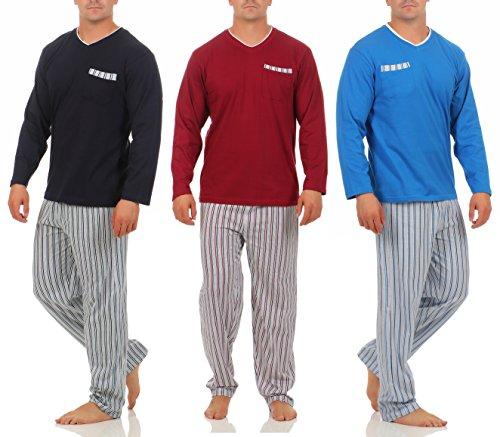 Good Oberteil Hose Hombre Streifen Market Pijama Deal Bordeaux Para rqK6cXwrZH