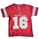 NCAA Alabama Crimson Tide Toddler Football Tee, 2 Toddler, Cardinal
