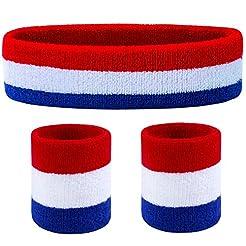 Favofit Headbands/Wristbands for Women M...