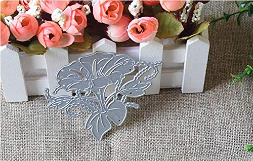 Zittop Morning Glory Cutting Dies Stencil Album Scrapbooking Cards DIY Embossing Tool by Zittop (Image #4)