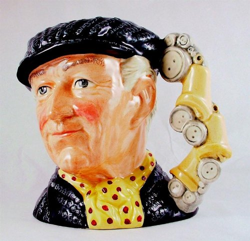 Doulton Large Character Jug - c1990 large Royal Doulton Pearly king toby jug the London Collection D6760