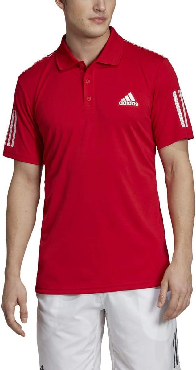 adidas Club 3-Stripes Tennis Polo Shirt, Hombre