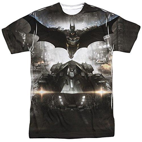 Batman: Arkham Knight - Poster T-Shirt Size XXXL (Batman Arkham Knight Action Figures Release Date)