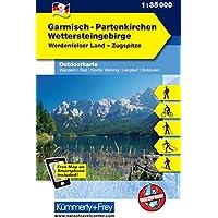 Garmisch - Partenkirchen Outdoorkarte Deutschland Nr. 3: 1:35 000, Mit kostenlosem Download für Smartphone (Kümmerly+Frey Outdoorkarten Deutschland)