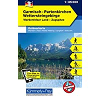 Garmisch - Partenkirchen Outdoorkarte Deutschland Nr. 3: 1:35 000, Mit kostenlosem Download für Smartphone (Kümmerly+Frey Outdoorkarten Deutschland, Band 951)