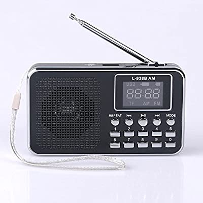 Mfine Portable Mini USB FM Radio Speaker Music Player USB/TF Card For PC iPod Phone from Mfine