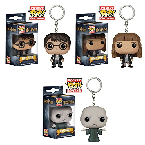 Pocket Pop! Keychains: Harry Potter, Hermione and Dark Lord Voldemort! Set of 3 - Sirius Black Keychain
