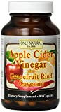 Only Natural Apple Cider Vinegar Plus Grapefruit Rind Cayenne Capsules, 90-Count Review