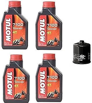 Kawasaki Ninja 100 Motul Öl Synthetic Ölfilter K N Kn 303 Kit Auto