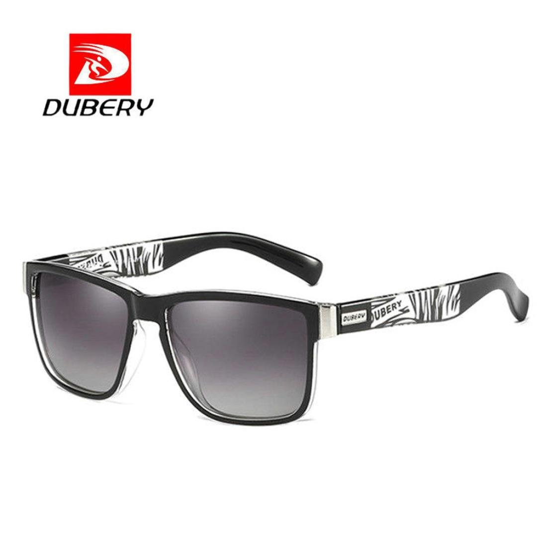 0dd883e2d1 Amazon.com  DUBERY Sunglasses Men s Polarized Sunglasses Outdoor Driving  Men Women Sport Frame Fishing Hunting Boating Glasses New (C)  Beauty