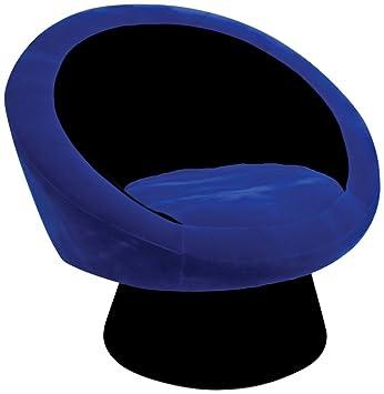 Superb Saucer Chair In Deep Blue