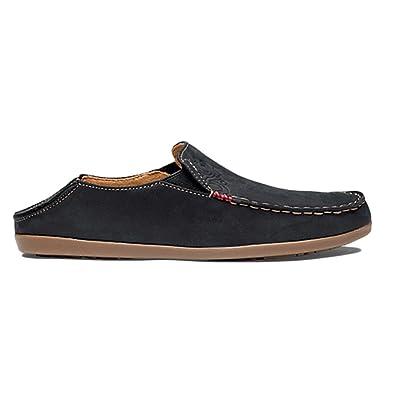 OLUKAI Women s Nohea Nubuck Slip On Shoes 0909bd888