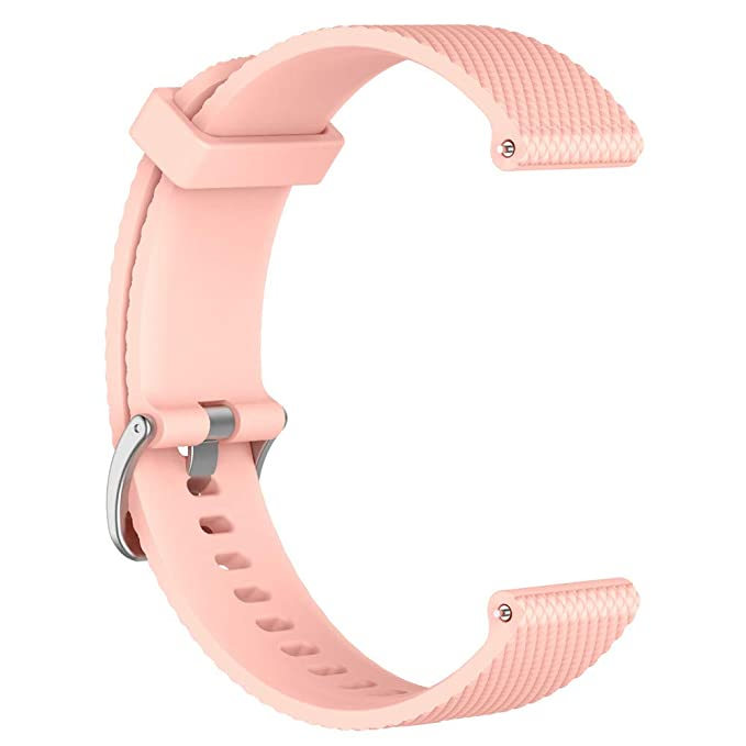 Amazon.com: Jessie Storee Soft Silicone Watch Strap for ...