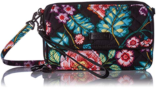 - Vera Bradley Iconic RFID All in One Crossbody,  Signature Cotton, One Size