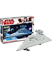 Revell Maqueta Wars Imperial Star Destroyer, Kit Modelo, Escala 1:2700 (6719)(06719), 60,0 cm de Largo (