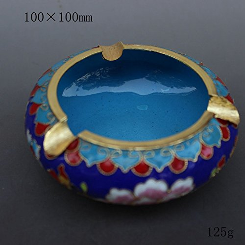 rayChina wind gifts, fetal copper filigree Enamel Cloisonne decoration, office Home Furnishing ()
