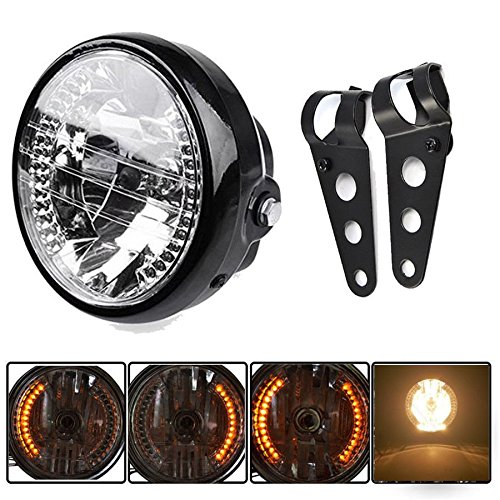 motorcycle headlight assembly - 1