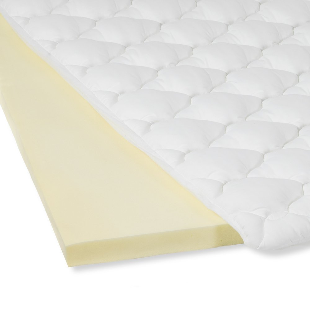 amazon com mattress pad with fitted skirt double thick extra
