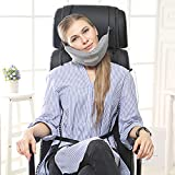 Apark Chin Supporting Travel Pillow - Supports the Head, Neck and Chin in Maximum Comfort in Any Sitting Position - 2018 Patented Product Holds Head Like Magic by HOTU