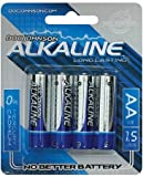 Doc johnson alkaline batteries - aa 4 pack (Pack Of 5)