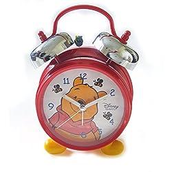 Disney Winnie the Pooh Double Bell Alarm Clock