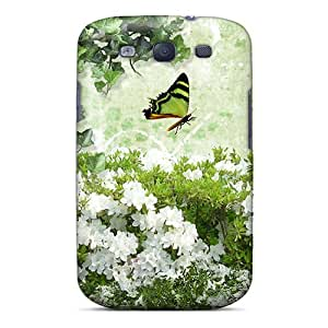 Awesome EEMhefp3673Peyni RachelMHudson Defender Tpu Hard Case Cover For Galaxy S3- Flower Blessing
