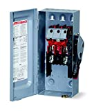 HU361 SQUARE D 30 AMP, Non fused, 3 pole, heavy duty, safety disconnect switch, Indoor, NEMA 1, 3P