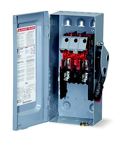 HU361 SQUARE D 30 AMP, Non fused, 3 pole, heavy duty, safety disconnect switch, Indoor, NEMA 1, 3P by Square D