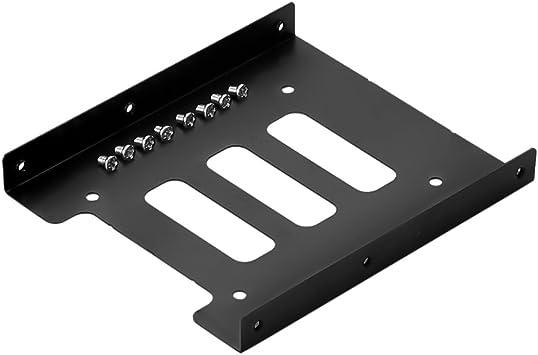 SIENOC 1 x 2.5 a 3.5 HDD/SSD Kit de Montaje de Metal ...