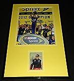 Brad Keselowski Autographed Photo - Framed 11x17 Display 2012 Champ - Autographed Photos
