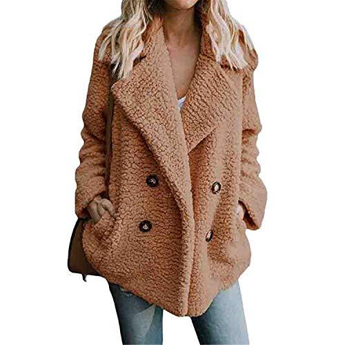 06ab97ae8e6 Women's Jackets Winter Coat Women Cardigans Ladies Warm Jumper Fleece Faux  Fur Coat Hoodie Outwear B