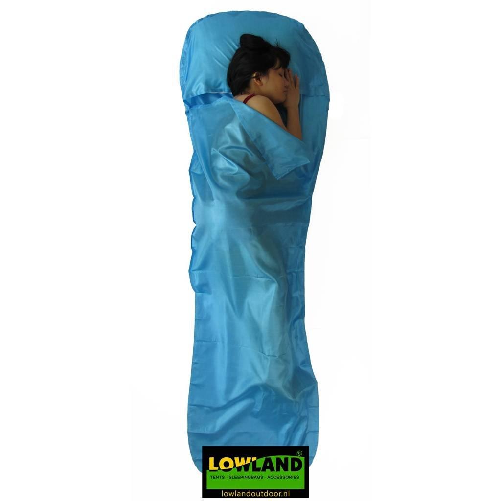 LOWLAND OUTDOOR® - Sábana saco de seda - 220 x 80/70 cm - 95gr: Amazon.es: Deportes y aire libre