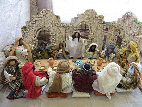 13 Gedecke für das letzte Abendmahl Abendmahl Abendmahl für Erzählfiguren und Egli-Figuren f119d9