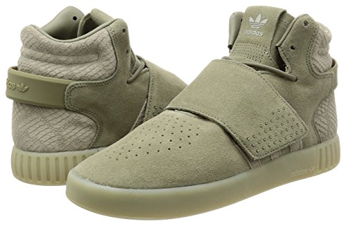 Unisexe Sneakers Strap Invader Trace Adulte Adidas Vert Sesame Tubular trace Cargo EqBYw1xX
