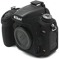 NEOHOOK Silicon Cover for Nikon D750 Camera Case, Professional Silicone Rubber Camera Case Cover Detachable Protective for Nikon D750 - Black