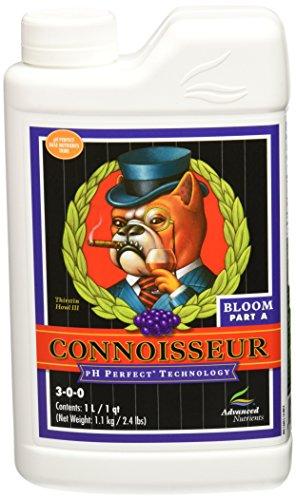 Advanced Nutrients pH Perfect Connoisseur Bloom Part A Plant Nutrient, 1 L