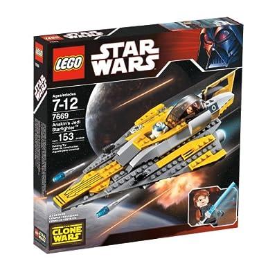 LEGO Star Wars Anakin's Jedi Starfighter: Toys & Games