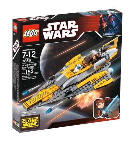 LEGO Star Wars Anakin's Jedi Starfighter (Lego Star Wars The Force Awakens Characters)