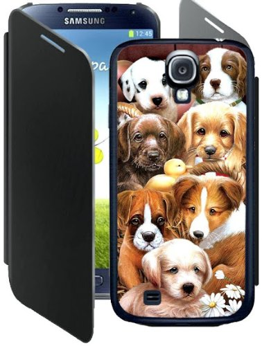 Ziblit 3D Case with Flip Cover for Samsung Galaxy S4 Mobile Phone Cases & Covers at amazon