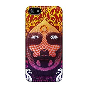 Protective Hard Cell-phone Case For Apple Iphone 5/5s With Support Your Personal Customized High-definition Grateful Dead Series AnnaDubois
