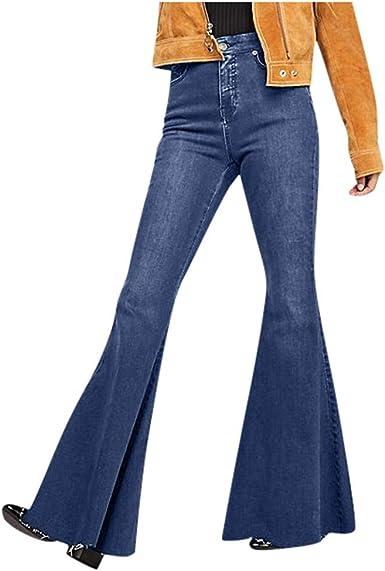 Hliyy - Pantalones Vaqueros para Mujer con diseño de Elefante ...
