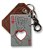 Cheap Queen of Hearts Bottle Opener Key Ring by Trixie & Milo