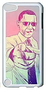 Art Customized Case for iPod Touch 5 Generation White Plastic Case Back Cover for iPod Touch 5th with Yes You Can