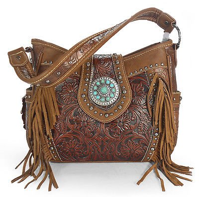 trinity-ranch-concealed-carry-tooled-leather-fringe-hobo-brown