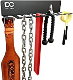 Double Circle Gym Rack Organizer, Multi-Purpose Workout Gear Rack Hanger for