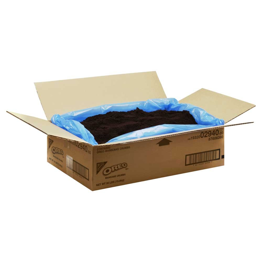Oreo Cake Base Cookie Crumbs 35 Pound
