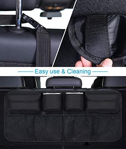Organizer Auto, URAQT Protezione Sedile Auto Bambini Impermeabile, con Multi-Tasca dell'Organizzatore e Pocket… 5