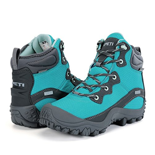 DIMO Women's Mid Boots Blue Top XPETI Hiking 0wRqdpR