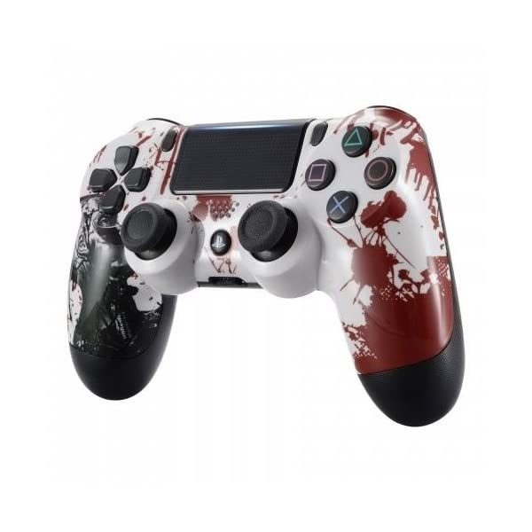Zombie PS4 PRO Rapid Fire Custom Modded Controller 40 Mods for All Shooter Games, Auto Aim, Quick Scope Sniper Breath (CUH-ZCT2U) 3