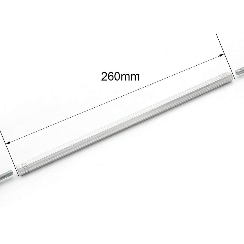 FXCNC Racing 50mm Varilla de cambio Varillaje y barra de acoplamiento Extremos Posiciones ajustables Ajuste universal